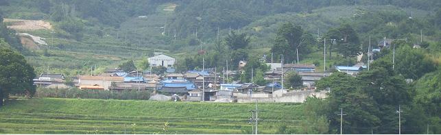 신촌(新村)마을 전경