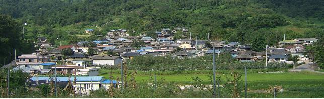 안흥(安興)마을 전경