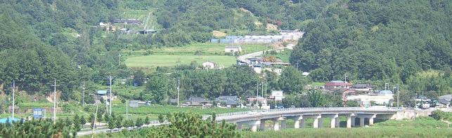 양곡(陽谷)마을 전경