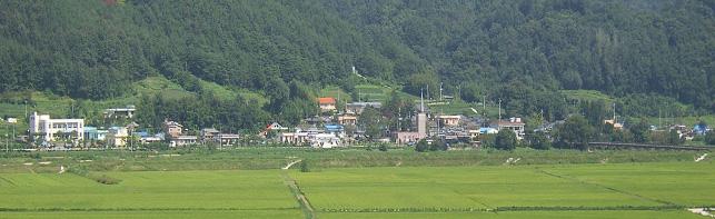 무릉(武陵)마을 전경