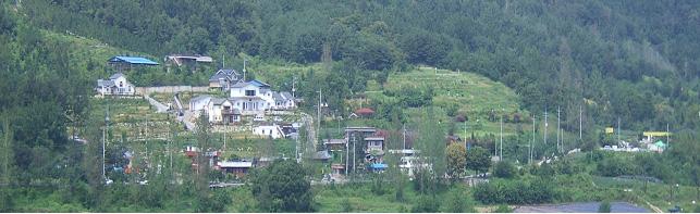 대야(大也)마을 전경